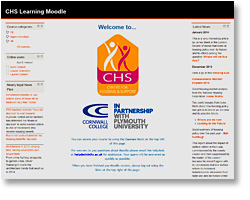 Click to view the CHS Moodle Site